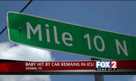 Baby remains in ICU after she was hit by car in Donna
