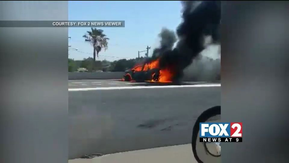 Fire Car Crash Leaves One Dead, Three Hospitalized