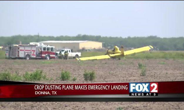 Crop Duster Makes Emergency Landing