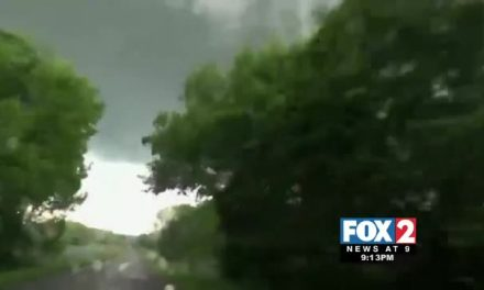 Caught on Camera: Tornado Rips through Oklahoma