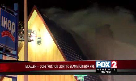 Construction Light to Blame for McAllen IHOP Fire