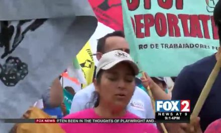 Human Rights Organizations March for Immigration Reform