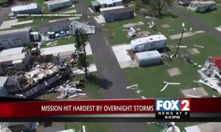 85-95 MPH Winds Damage Mission Communities, 2400 Residents Remain without Power