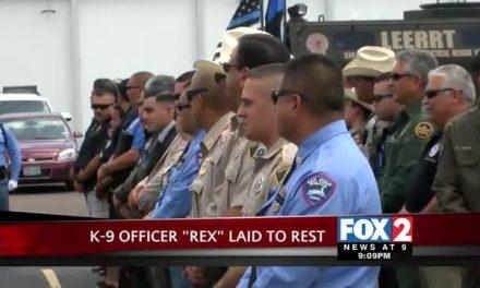 Funeral for San Juan K-9 Officer