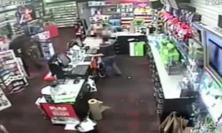 Caught on Camera: 7-Year-Old Fights Man Robbing Store