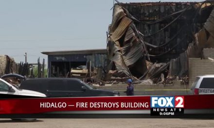 Fire Claims Building in Hidalgo, Texas