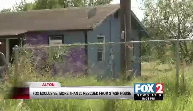 20 Rescued From Stash House