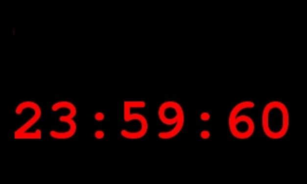 Delay Those New Year's Plans: 2016 Is Getting A Leap Second