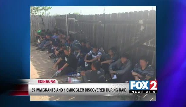 35 Undocumented Immigrants Rescued, Smuggler Arrested