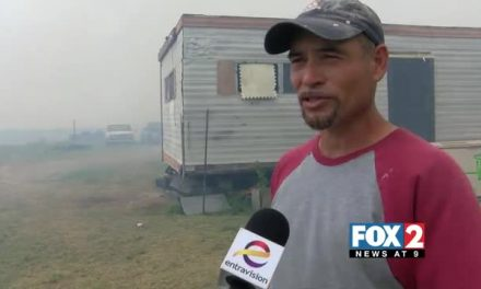 Controlled Brush Fire Gets Out Of Control