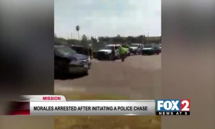 Man is Arrested after Leading Police on Chase