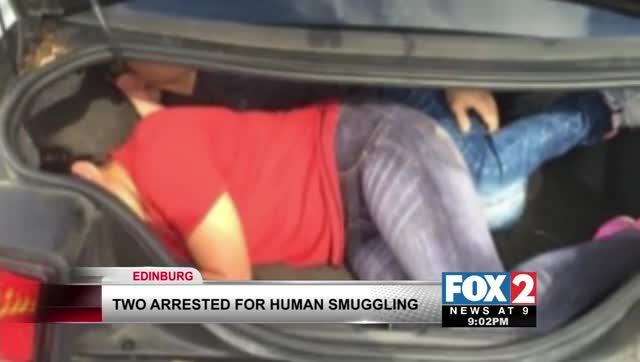 Two Arrested For Human Smuggling North of Edinburg