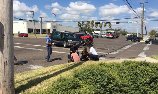 Serious accident involving two vehicles in McAllen