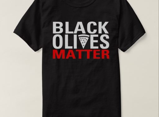 New Mexico restaurant selling 'black olives matter' shirts