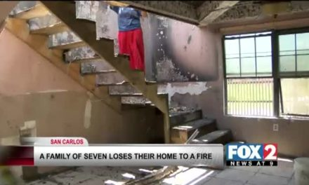 Fire Claims Home of a Family of 7