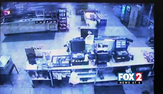Man Robs Stripes With Hammer and a Knife