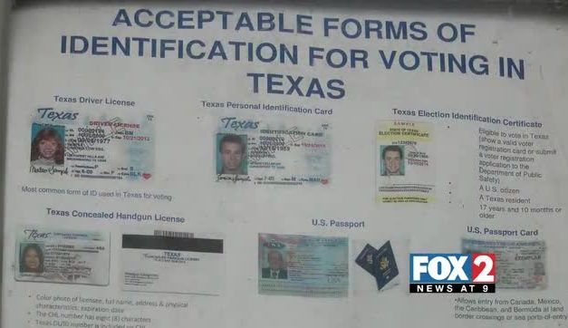 Texans Can Cast A Vote Without An ID