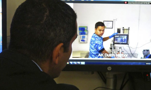 Remote Alaska port clinic goes modern with telemedicine