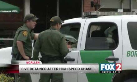 Five Detained By Border Patrol, After High Speed Chase