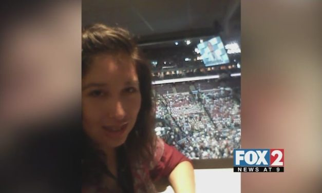 RGV Woman At DNC Watches Hillary Clinton Become Presidential Candidate