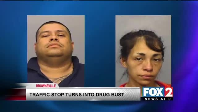 Traffic Stop Turns into Drug Bust