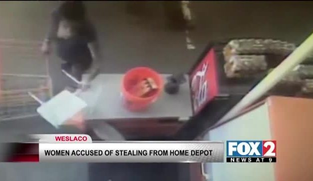 Women Accused of Robbing Home Depot