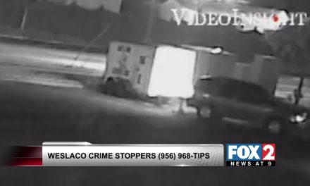Weslaco Robbery caught on tape, Police need your help