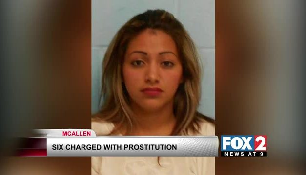 6 Arrested In Mcallen For Prostitution