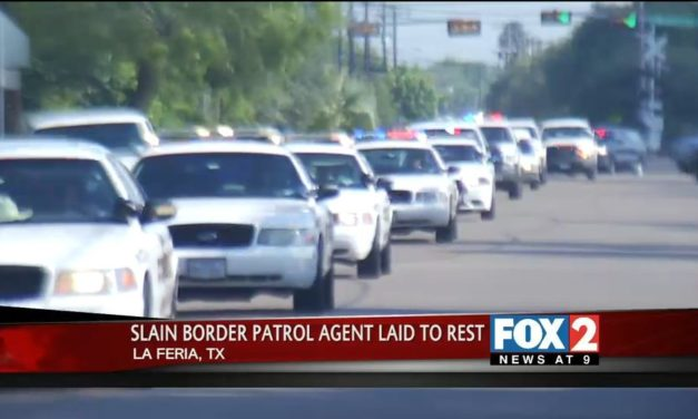 Slain Border Patrol Agent Laid To Rest in La Feria