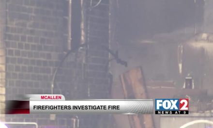 Fire leaves McAllen home in ruins