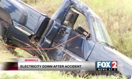 Gonzalez  Elementary loses power because of car accident