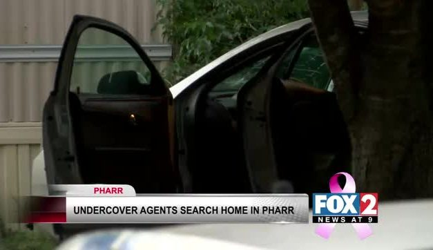 Undercover Agents Search Homes in Pharr