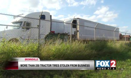 250 tractor tires stolen in Brownsville