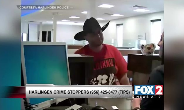 Bank Robbery Caught on Camera