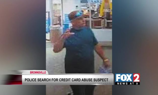 Brownsville PD Searching for Credit Card Fraudster