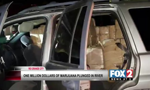 Drug Smuggler Makes 'Splash Down' In Rio Grande City