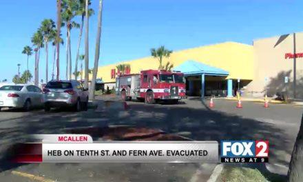 H-E-B Evacuated in McAllen