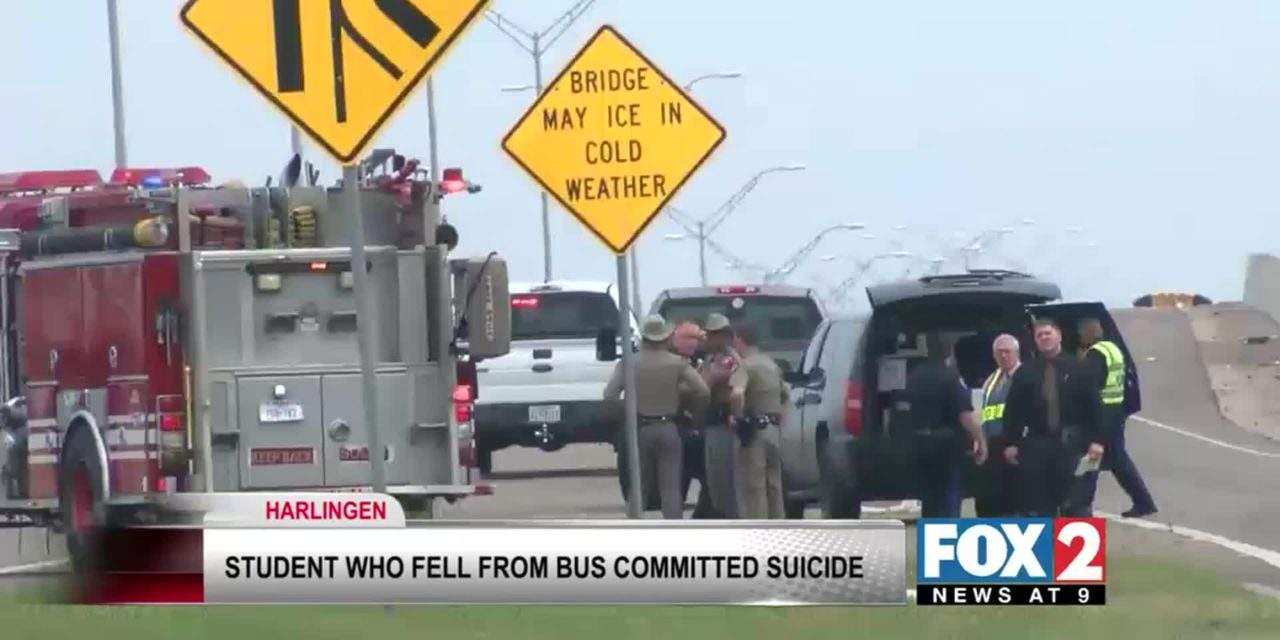 Student Who Fell Out of School Bus Committed Suicide