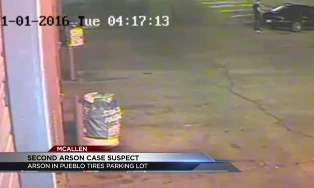 Authorities Searching for Arsonist