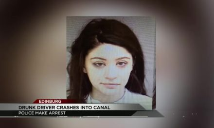 Drunk Driver Ends Up In Canal