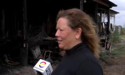 Flames Consume Family Home in San Benito