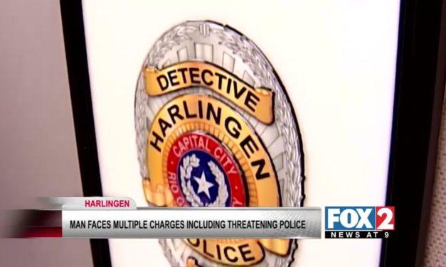 Harlingen Man Makes Threats Against Police