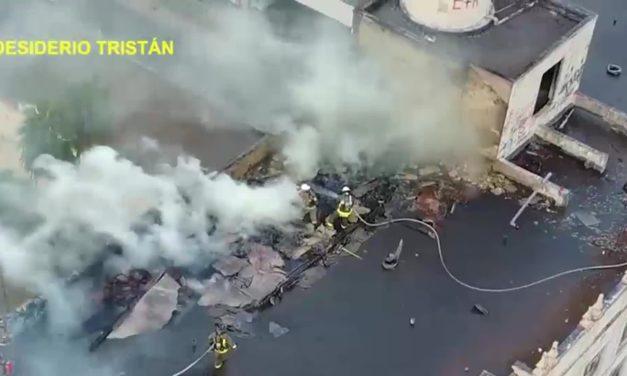 30 Firefighters Battle Blaze in Brownsville