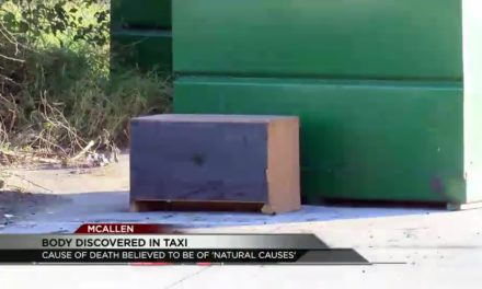 Body Found in Taxi Near McAllen Shopping Center