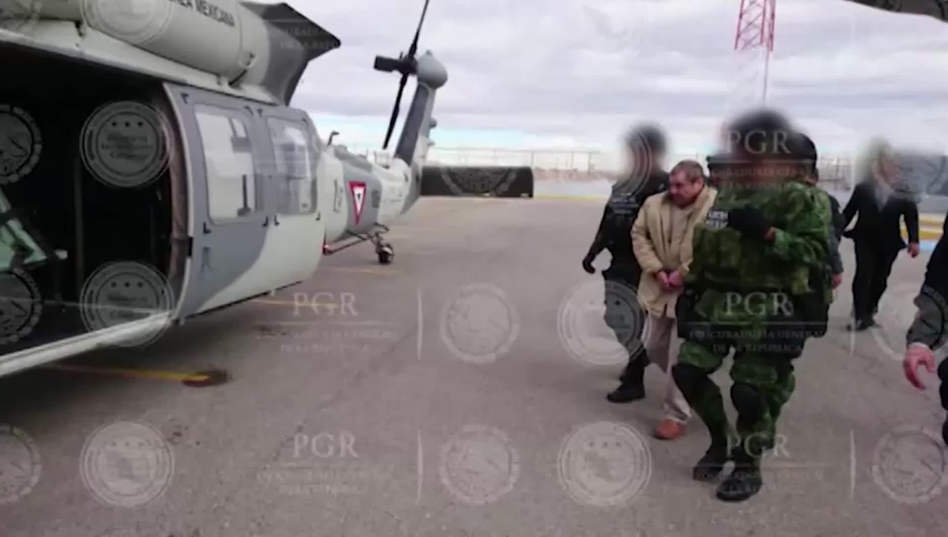 El Chapo Extradited to New York