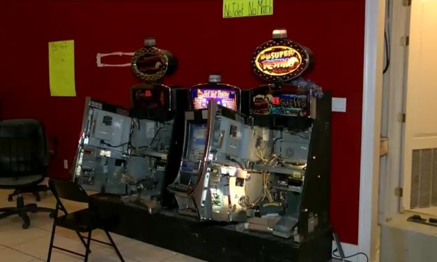 Police Raid Illegal Gambling Establishment