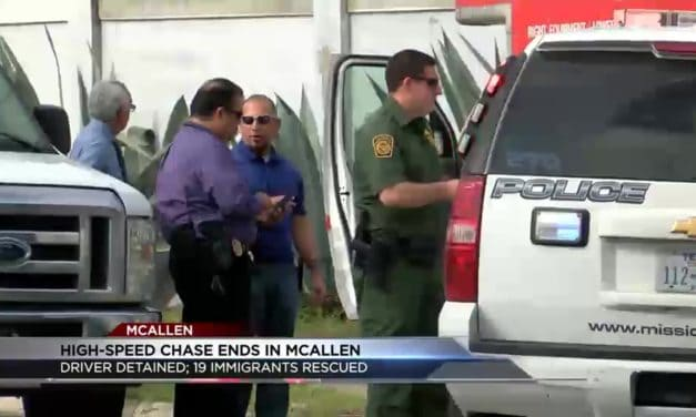 13 Undocumented Immigrants Rescued After Chase in U-Haul
