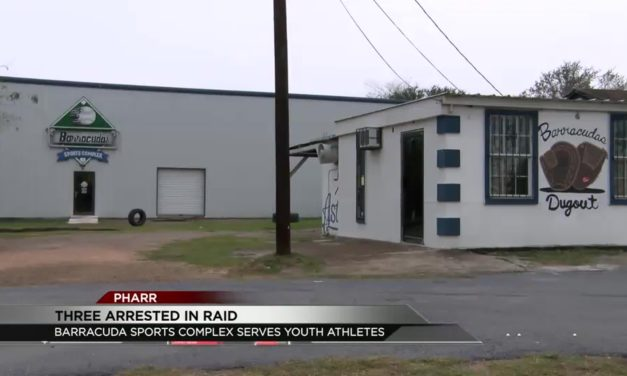 3 Arrested in Raid at Sports Complex