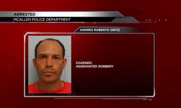 McAllen Police Arrested Undocumented Man for Aggravated Robbery