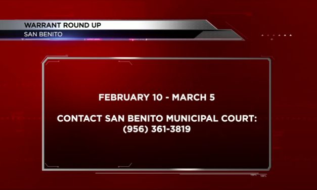 San Benito Warrant Round Up in Effect